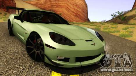 Chevrolet Corvette Z06 2006 Drift Version for GTA San Andreas