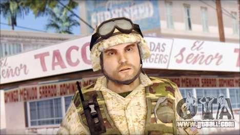 USA Soldier for GTA San Andreas third screenshot