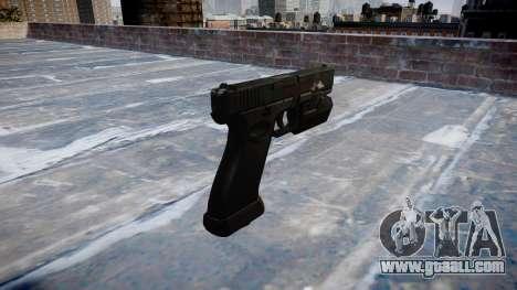 Pistol Glock 20 ghosts for GTA 4 second screenshot