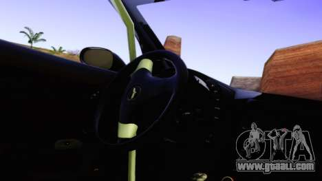 Chevrolet Corvette Z06 2006 Drift Version for GTA San Andreas back view