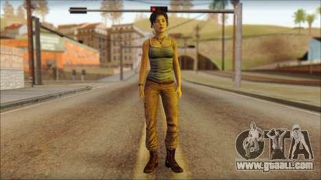 Tomb Raider Skin 11 2013 for GTA San Andreas