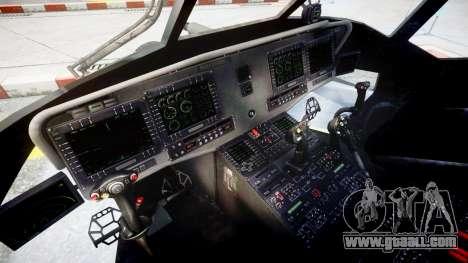 Sikorsky MH-X Silent Hawk [EPM] v2.0 for GTA 4 back view