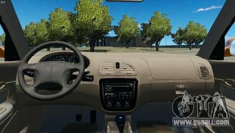 Daewoo Nubira I Wagon CDX US 1999 for GTA 4 back view