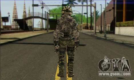 Task Force 141 (CoD: MW 2) Skin 1 for GTA San Andreas second screenshot