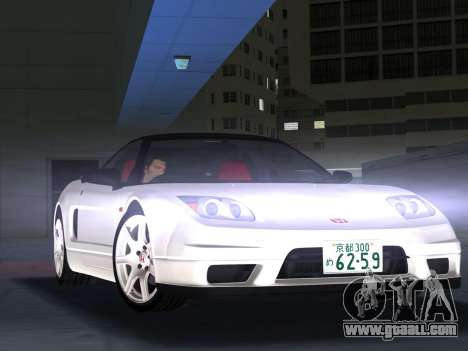 Honda NSX-R for GTA Vice City left view