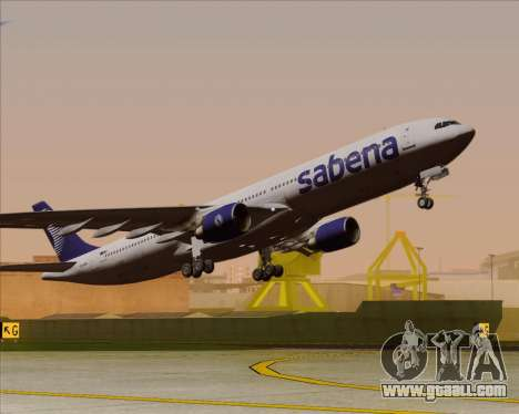 Airbus A330-300 Sabena for GTA San Andreas