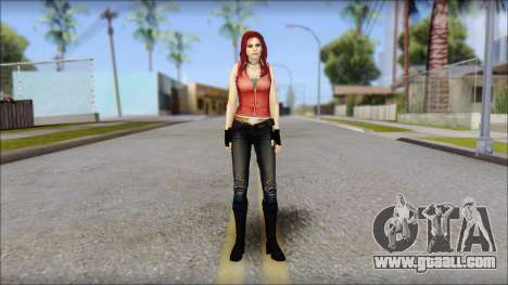 Claire Aflterlife Skin for GTA San Andreas