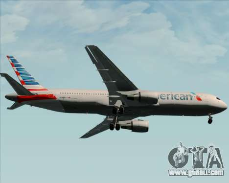 Boeing 767-323ER American Airlines for GTA San Andreas side view