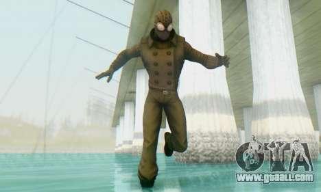 Skin The Amazing Spider Man 2 - DLC Noir for GTA San Andreas second screenshot