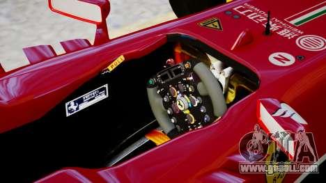 Ferrari F138 v2 for GTA 4 inner view