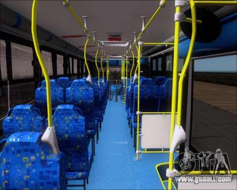 Caio Induscar Apache S21 Volksbus 17-210 Manaus for GTA San Andreas inner view