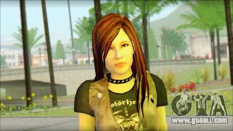 Bike Girl for GTA San Andreas third screenshot