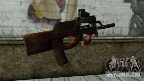 P90 from PointBlank v3 for GTA San Andreas second screenshot