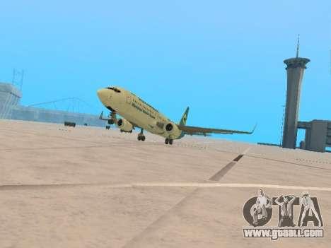 Boeing 737-84R Ukraine International Airlines for GTA San Andreas