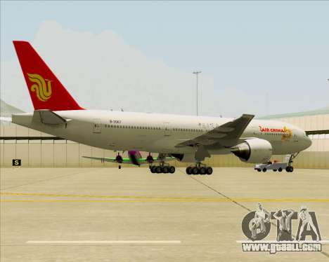Boeing 777-200ER Air China for GTA San Andreas interior