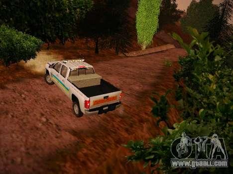 Chevrolet Silverado 2500HD Public Works Truck for GTA San Andreas right view