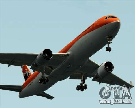 Boeing 767-300ER Australian Airlines for GTA San Andreas bottom view