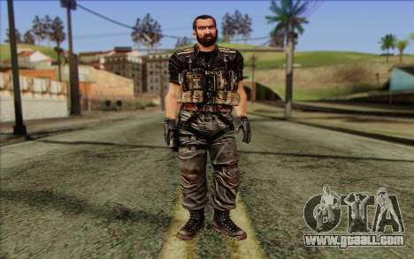 Soldiers from the Rogue Warrior 1 for GTA San Andreas