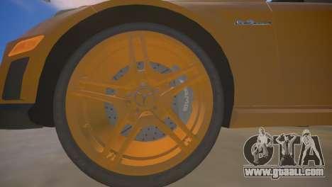 Mercedes-Benz E63 AMG для GTA 4 for GTA 4 bottom view