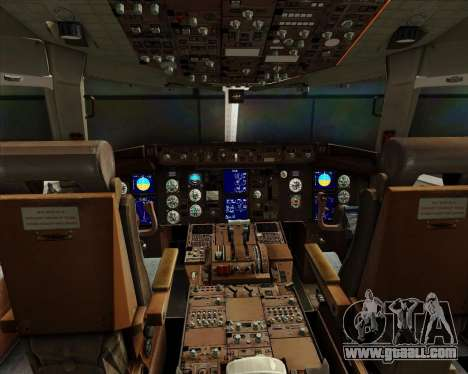 Boeing 767-300ER Australian Airlines for GTA San Andreas interior