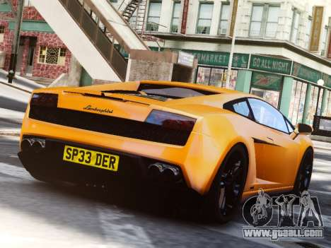Lamborghini Gallardo LP560-4 for GTA 4 left view