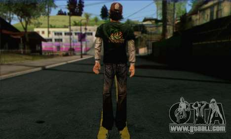 Kenny from The Walking Dead v1 for GTA San Andreas second screenshot