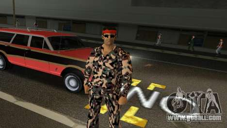 Camo Skin 08 for GTA Vice City third screenshot