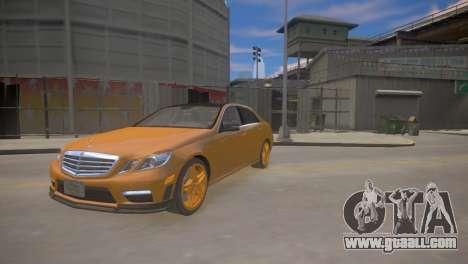 Mercedes-Benz E63 AMG для GTA 4 for GTA 4