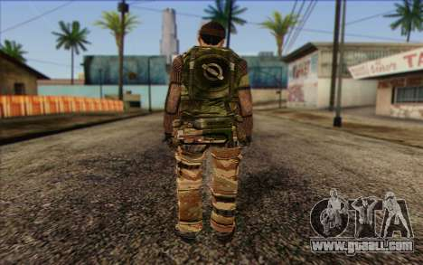 Soldiers MEK (Battlefield 2) Skin 2 for GTA San Andreas second screenshot