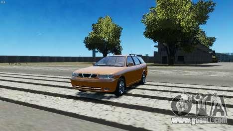 Daewoo Nubira I Wagon CDX US 1999 for GTA 4 left view