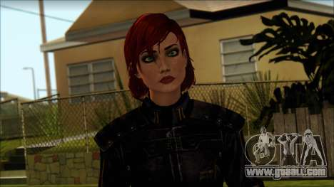 Mass Effect Anna Skin v8 for GTA San Andreas third screenshot
