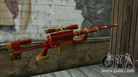 Sniper Rifle from PointBlank v1 for GTA San Andreas second screenshot