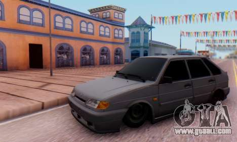 VAZ 2114 for GTA San Andreas left view