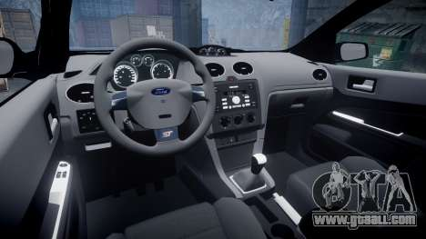 Ford Focus ST 2005 Rieger Edition for GTA 4 inner view
