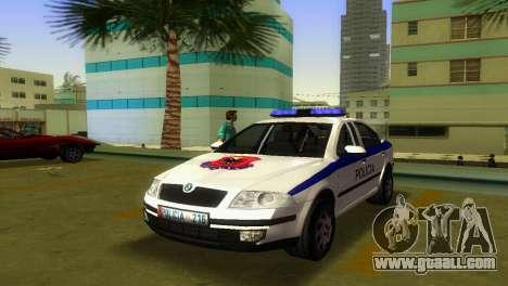 Skoda Octavia Albanian Police Car for GTA Vice City