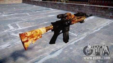 Automatic rifle Colt M4A1 elite for GTA 4 second screenshot