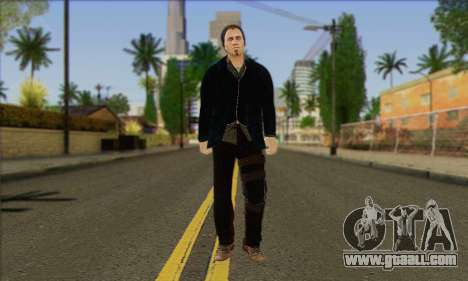 Damien from Watch Dogs for GTA San Andreas