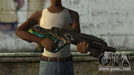AUG A3 from PointBlank v3 for GTA San Andreas third screenshot