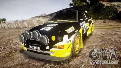Ford Escort RS Cosworth 2.0 Vespas Team for GTA 4