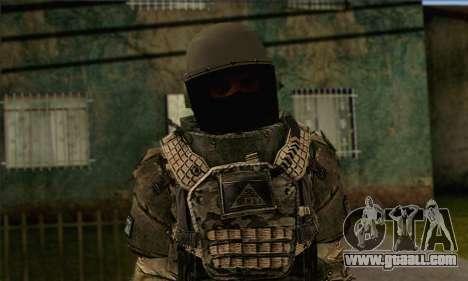 Task Force 141 (CoD: MW 2) Skin 9 for GTA San Andreas third screenshot
