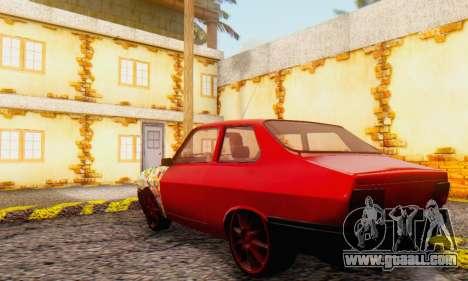 Dacia 1310 Sport Tuning v2 for GTA San Andreas right view