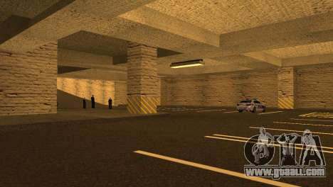 New textures Parking in the LSPD for GTA San Andreas sixth screenshot