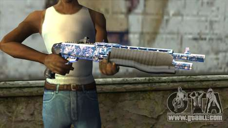 Graffiti Shotgun v2 for GTA San Andreas third screenshot
