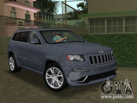 Jeep Grand Cherokee SRT-8 (WK2) 2012 for GTA Vice City inner view
