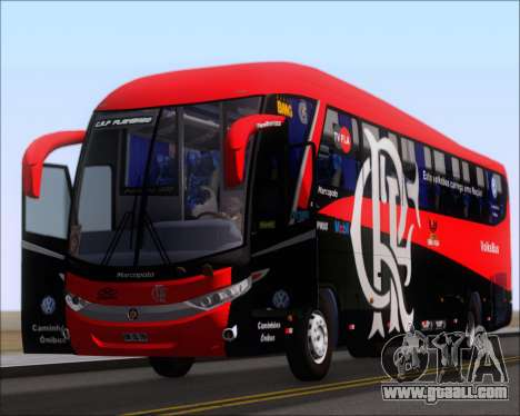 Marcopolo Paradiso 1200 G7 4X2 C.R.F Flamengo for GTA San Andreas inner view