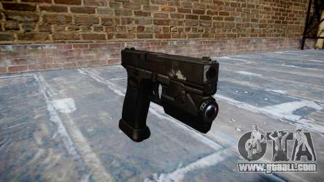 Pistol Glock 20 ghosts for GTA 4
