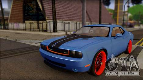 Dodge Challenger SRT8 Stance for GTA San Andreas