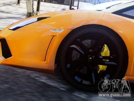 Lamborghini Gallardo LP560-4 for GTA 4 back left view
