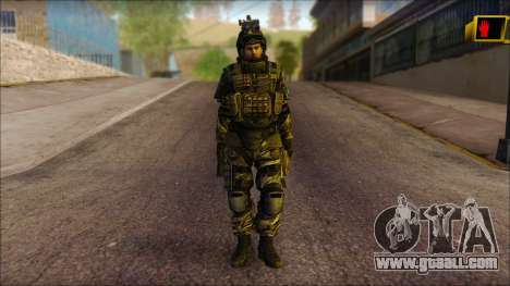 Soldiers of the EU (AVA) v1 for GTA San Andreas