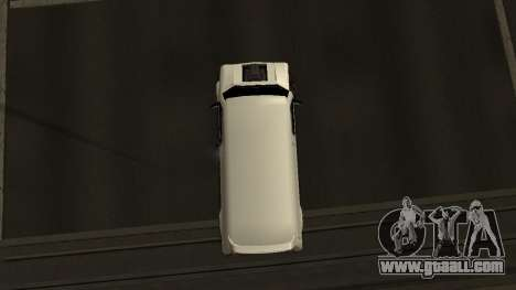 Burrito for GTA San Andreas back view